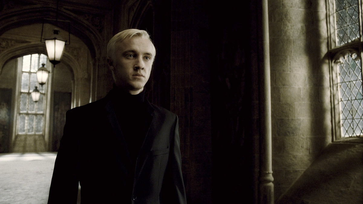 Draco Malfoy Being A Cowardice Bully In All Of The Harry Potter Movies