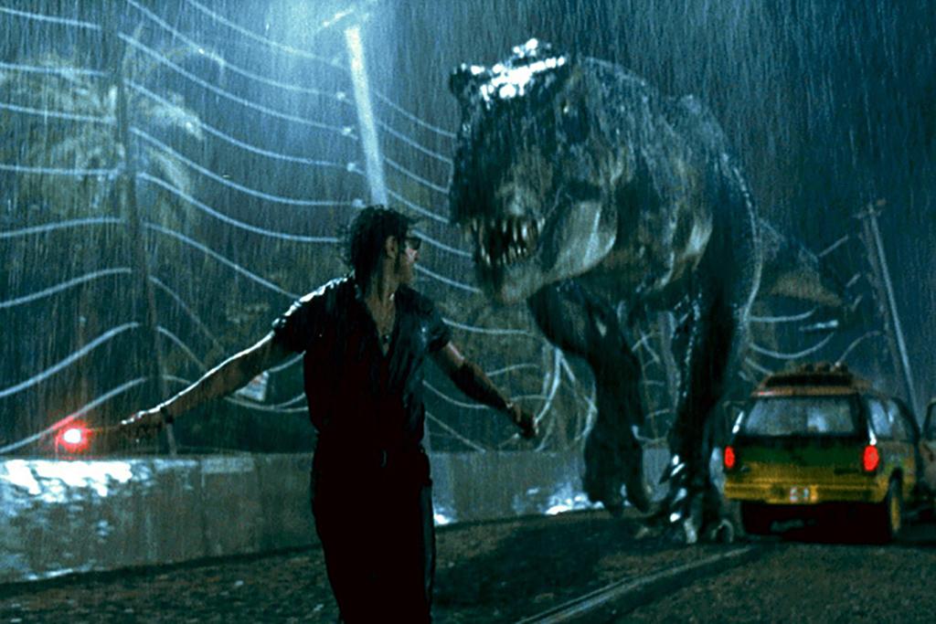 Jeff Goldbloom in Jurassic Park