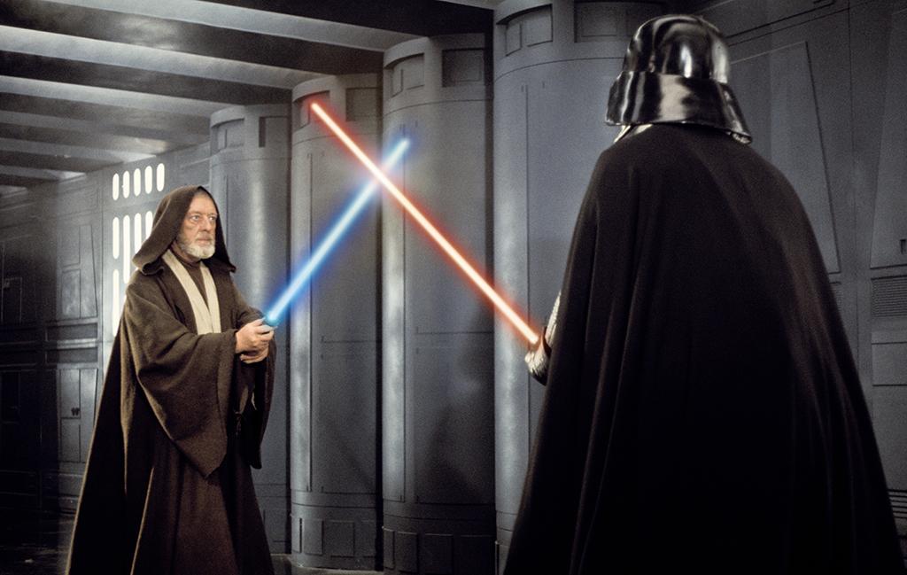 Obi Wan and Darth Vader
