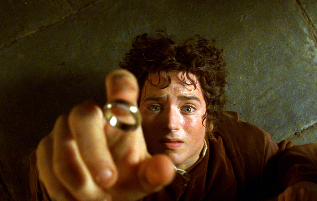 Elija Wood in the Fellowship of the Ring