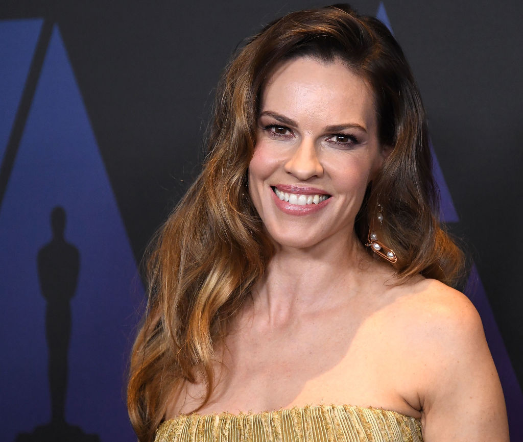 Hilary Swank Lived In A Car With Her Mom