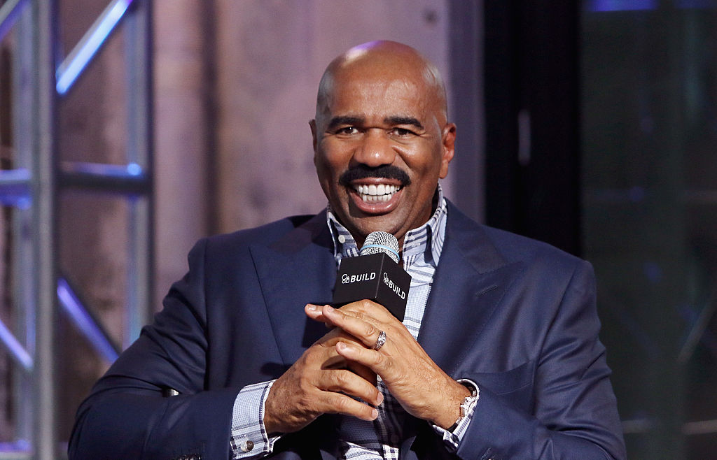 Steve Harvey Was Homeless For Three Years