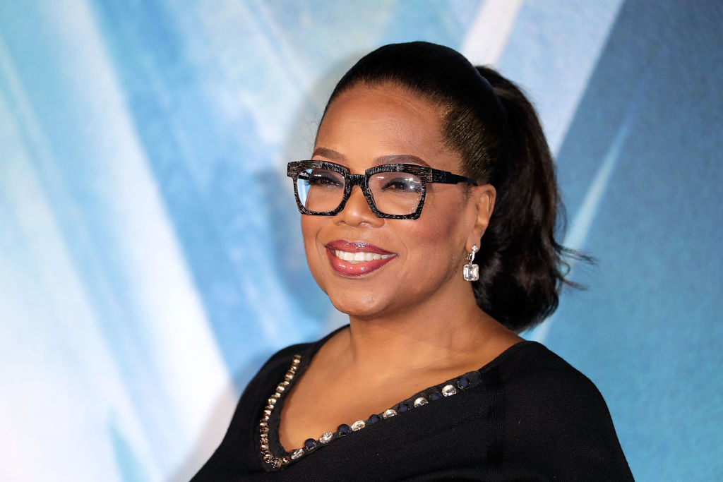 Oprah Winfrey Wore Potato Sack Dresses