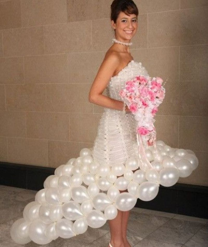 One More Balloon Dress, For Good Measure