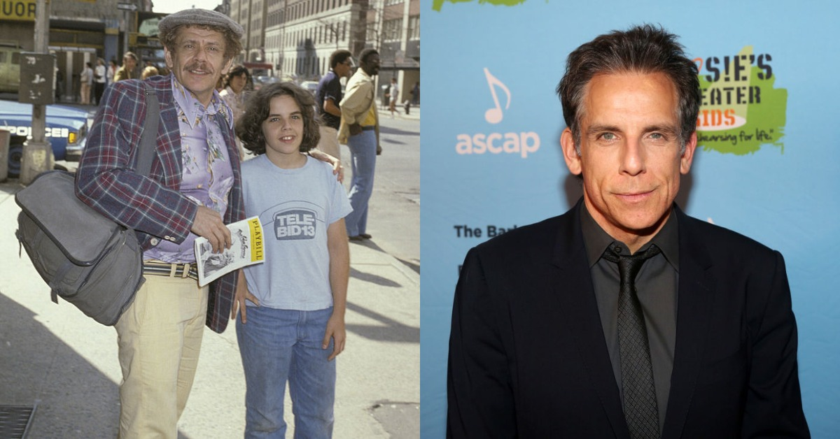 ben stiller then vs now