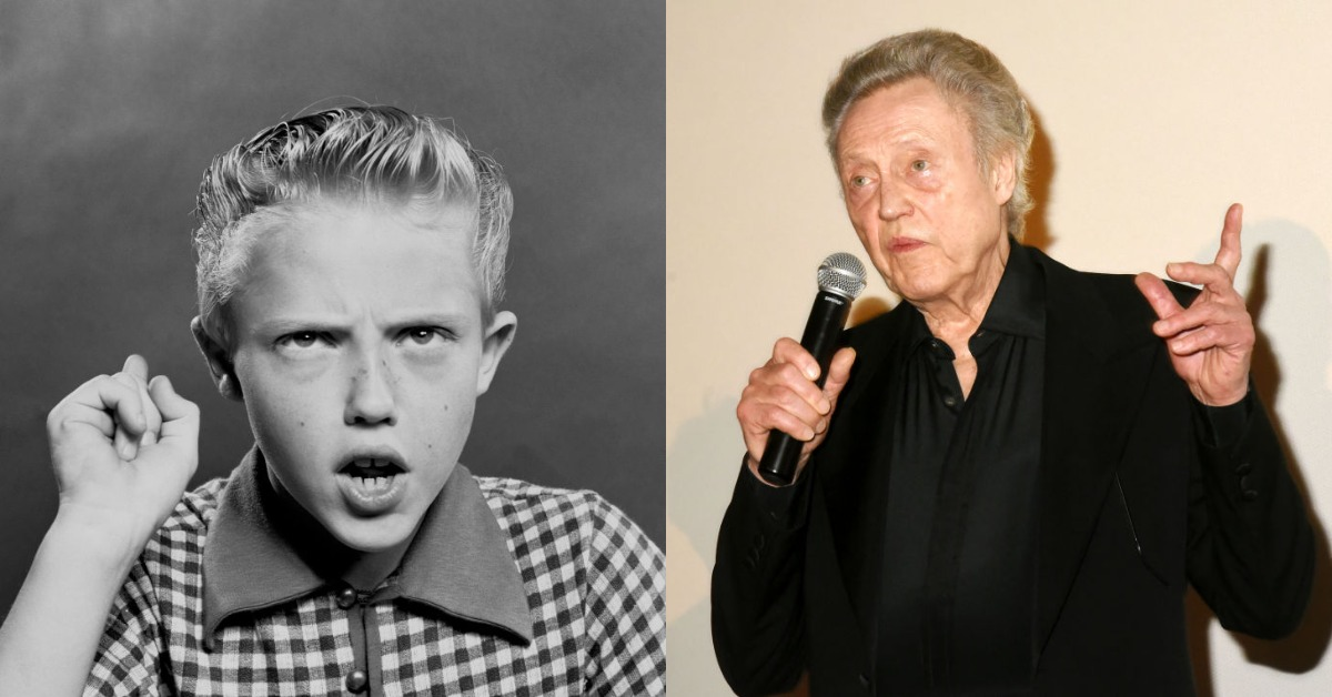 christopher walken then vs now