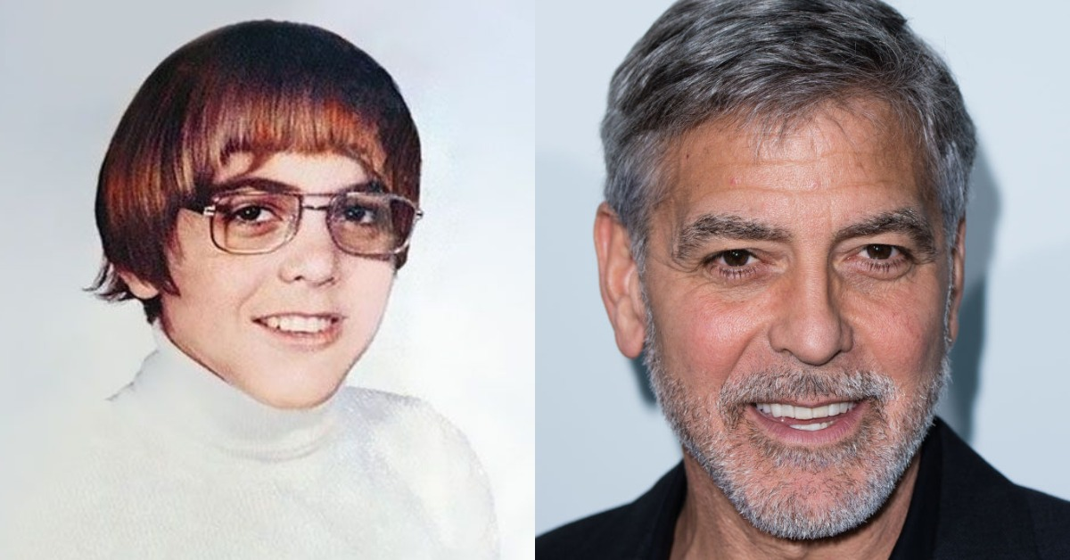george clooney then vs now
