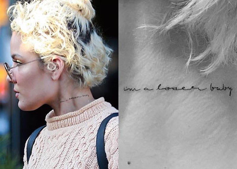 halsey-im-a-loser-baby-neck-tattoo