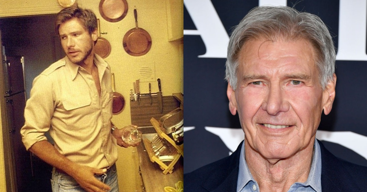 harrison ford young vs old