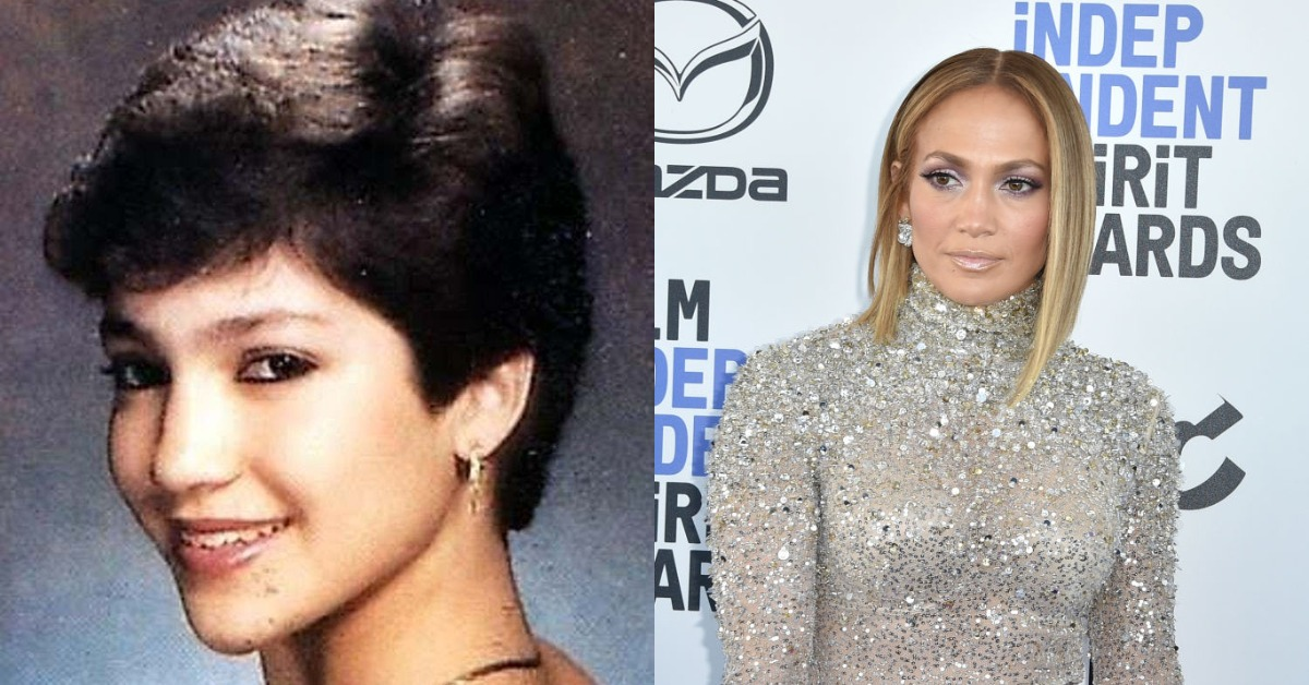 jennifer lopez then vs now