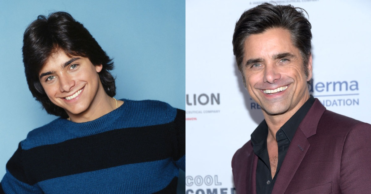 john stamos then vs now