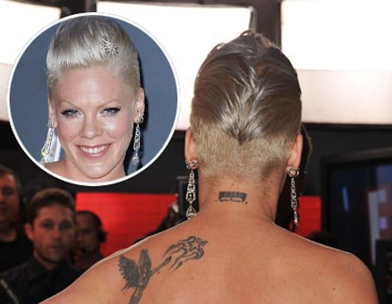 pink celebrity-tattoo