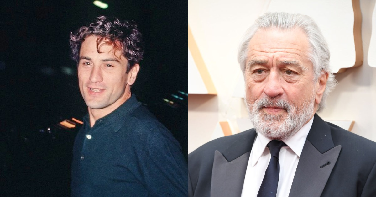robert de niro then vs now