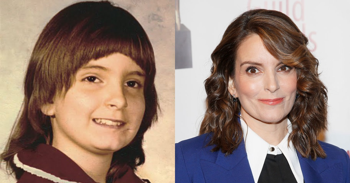 tina fey then vs now