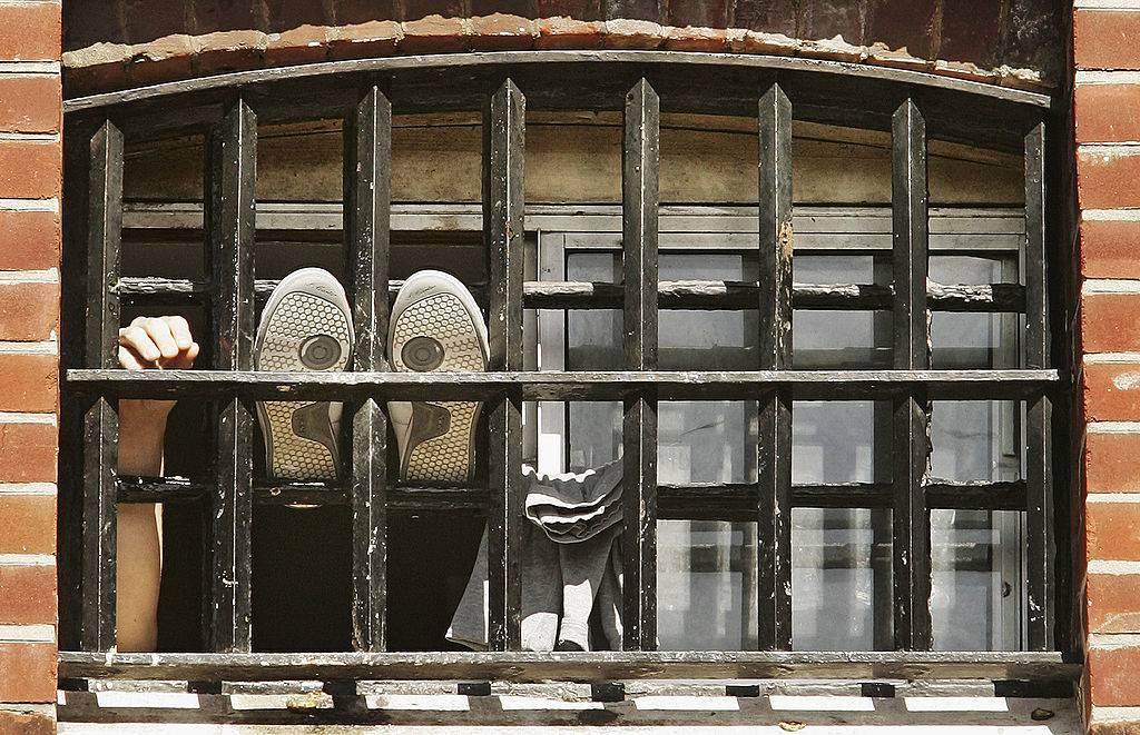 a british prison