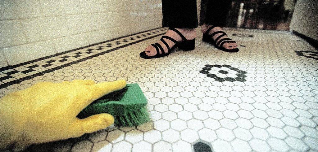 scrubbing-tile-floors
