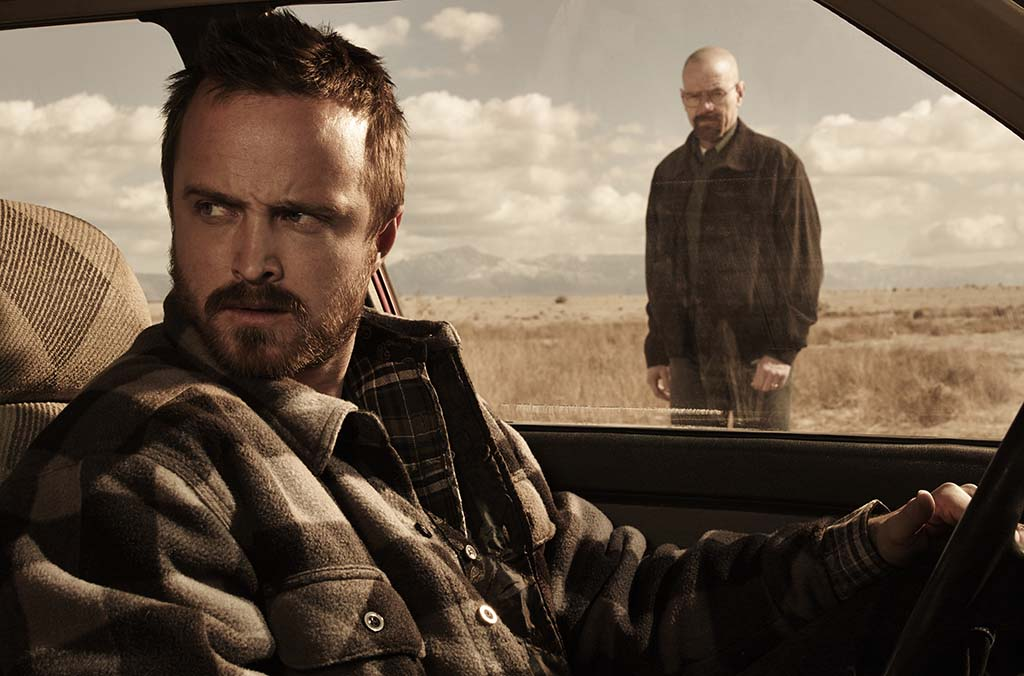Promotional shot for Breaking Bad