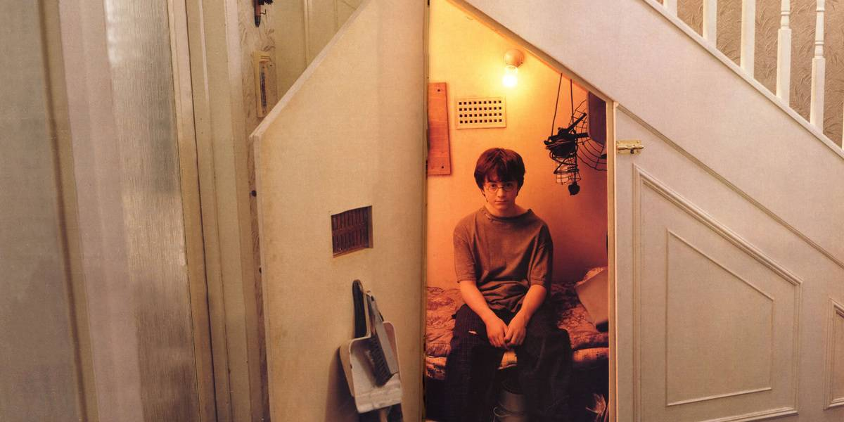 Harry In The Cupboard