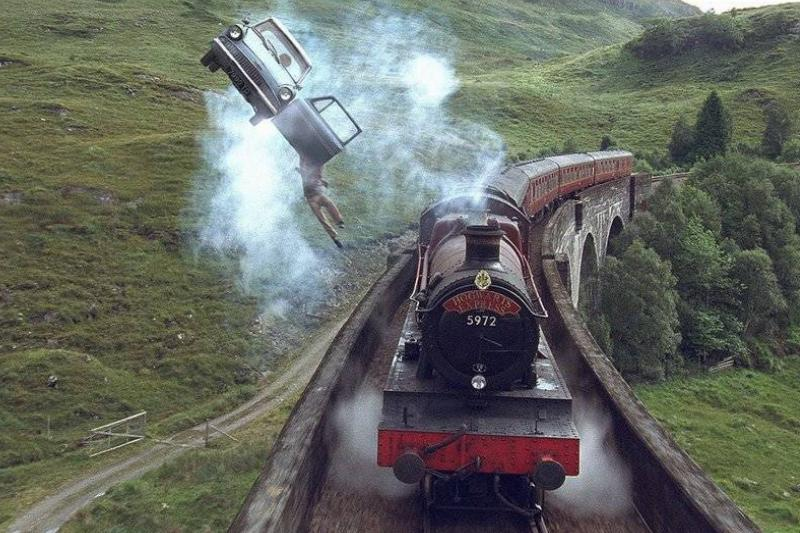 The Hogwarts Express Is A Non-Stop Train Ride To Hogwarts
