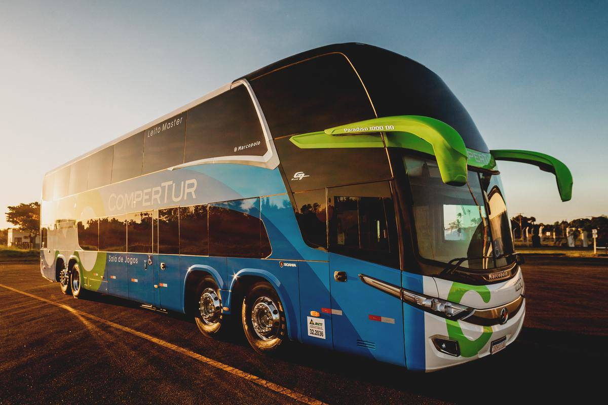 a luxury bus