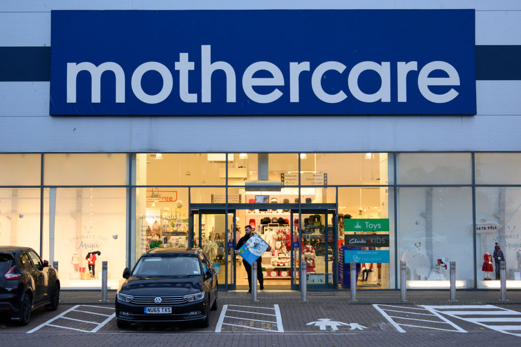 A general view of a Mothercare store