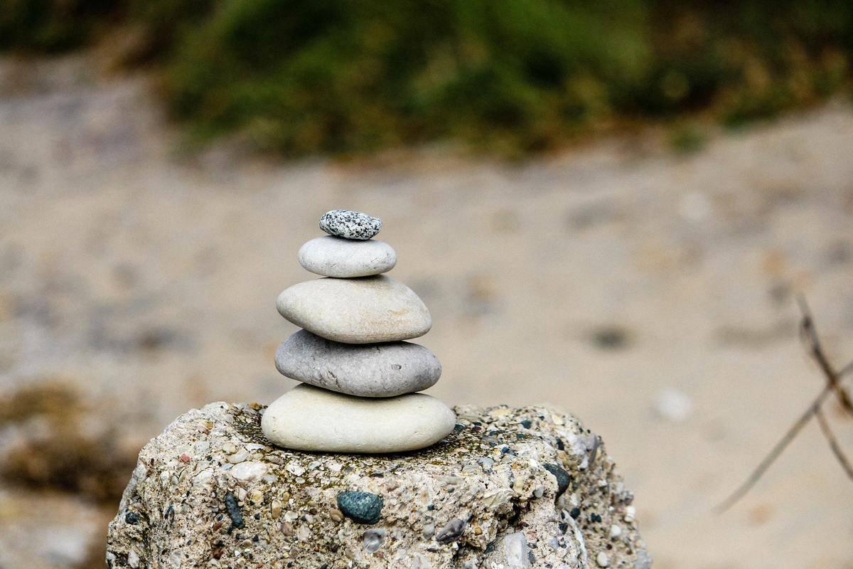rocks stacked together