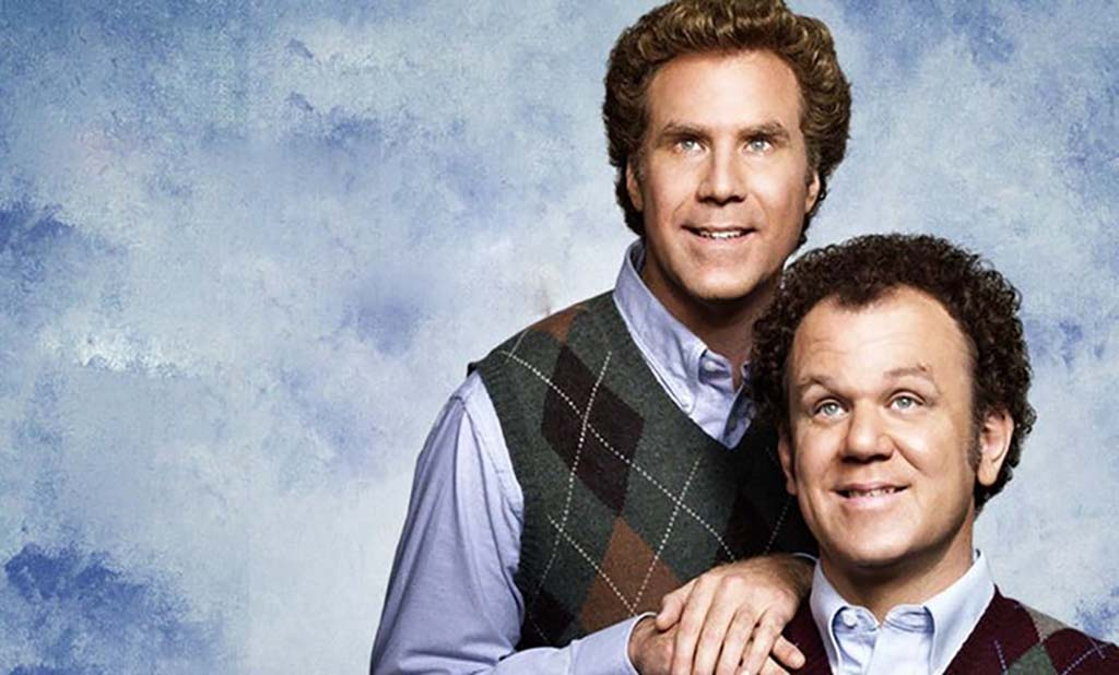 Will Farrell and John C. Riley title card Step Brothers