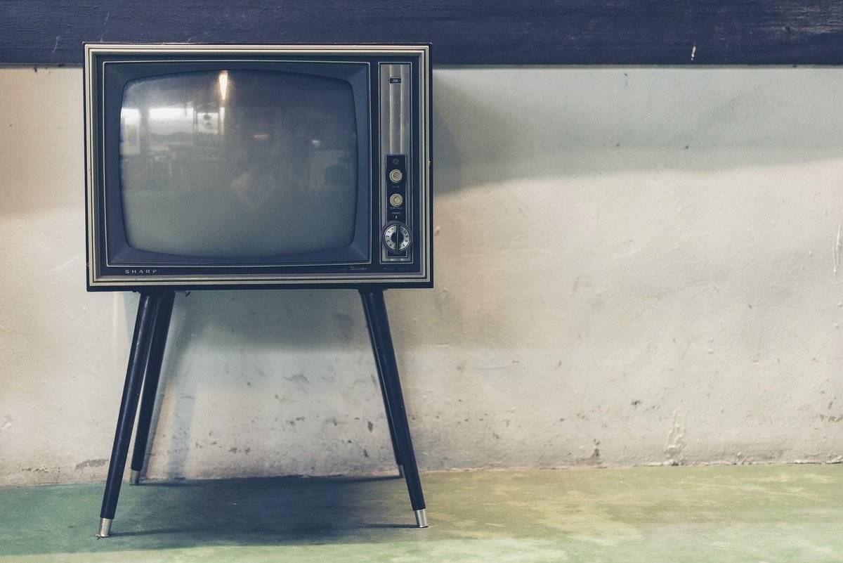 an old television