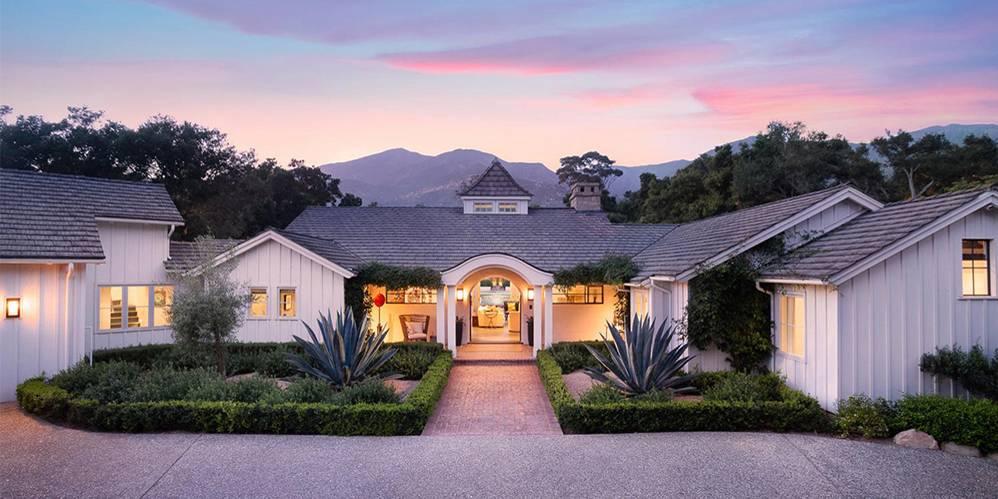 An Inside Look At Meg Ryan's $5 Million Mansion In Montecito, California