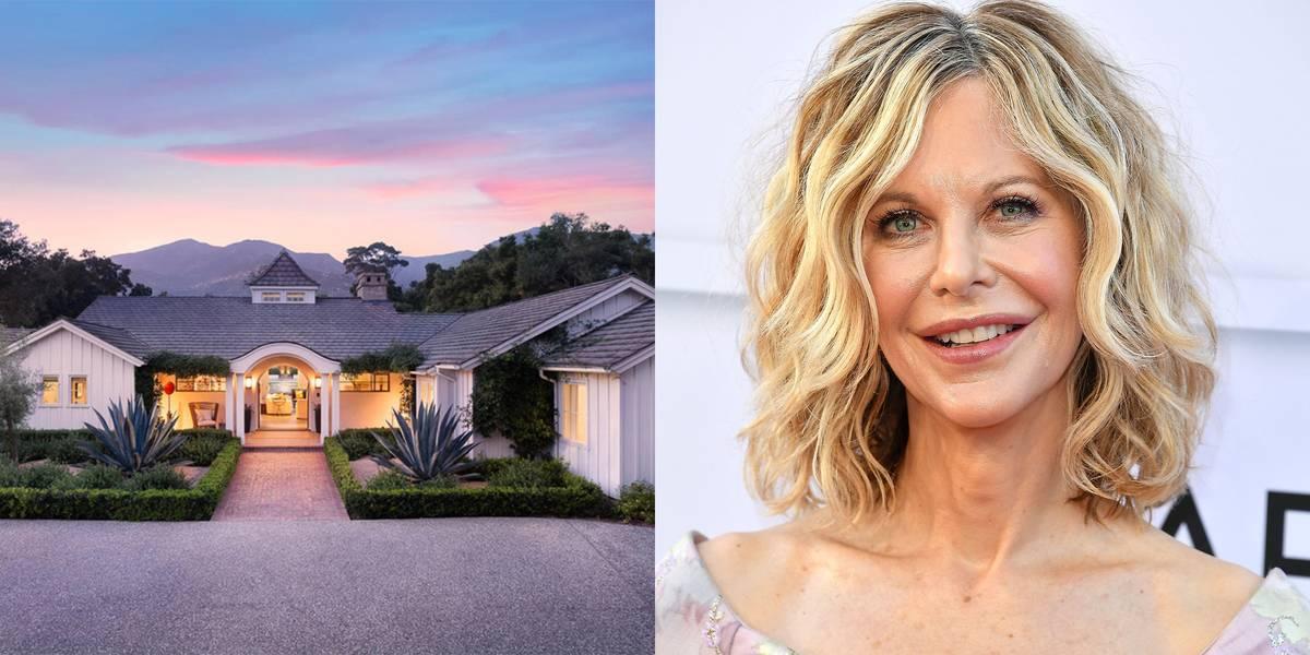 Meg Ryan Bought A Beautiful Montecito Estate
