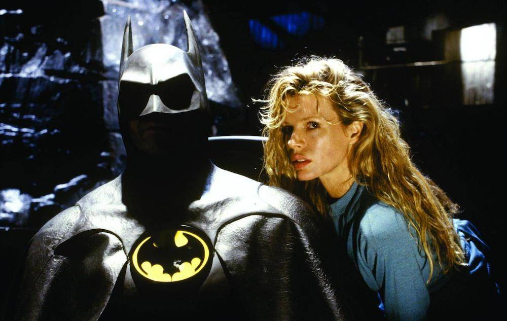 batman and a blonde woman in 1989's batman