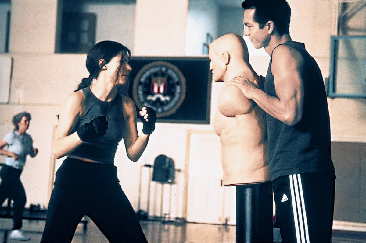 Sandra And Benjamin Bratt Went All-Out During Fight Scenes