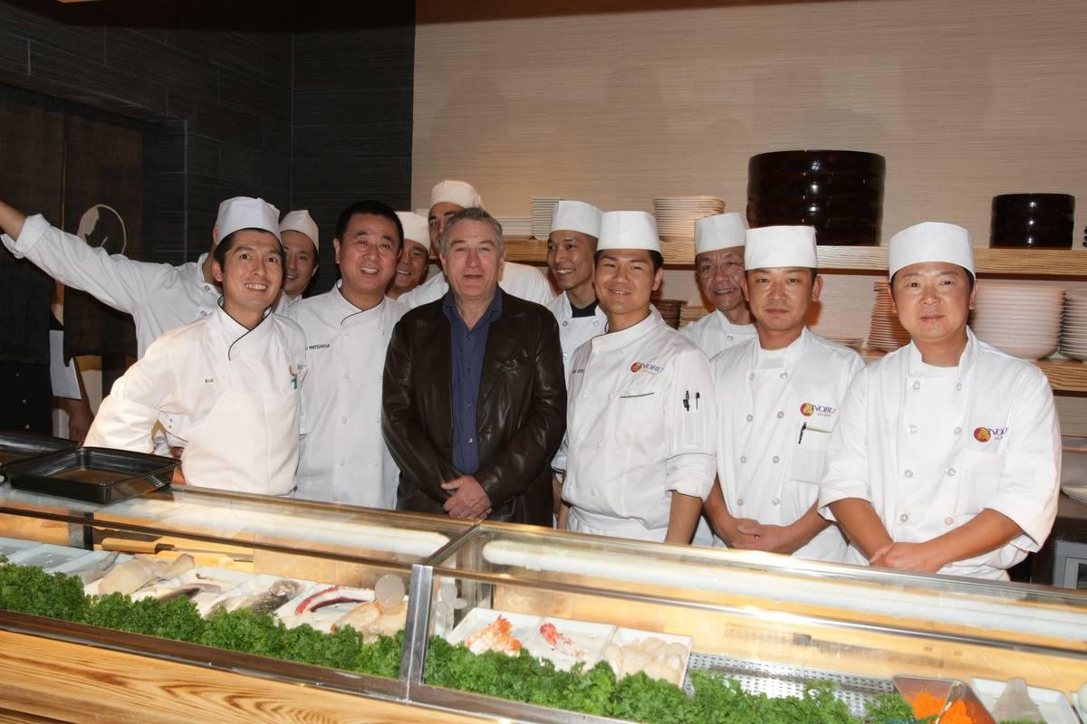 Robert De Niro Owns The High-Class Sushi Joint Nobu