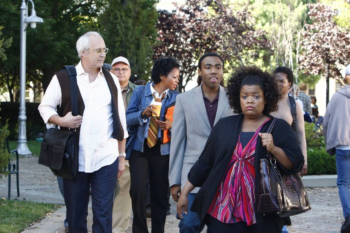 Yvette Nicole Brown And Donald Glover Leaving Community