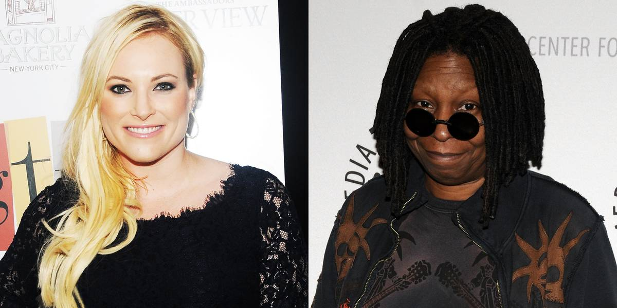 Meghan McCain & Whoopi Goldberg On The View