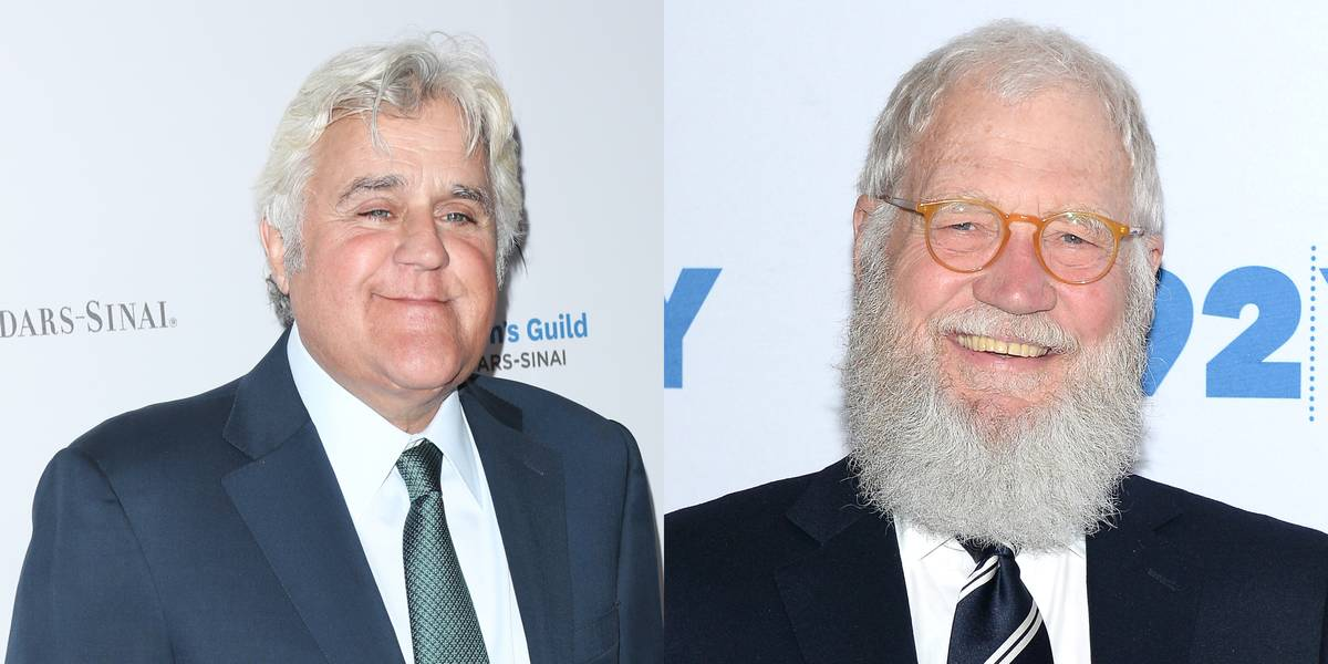 Jay Leno & David Letterman