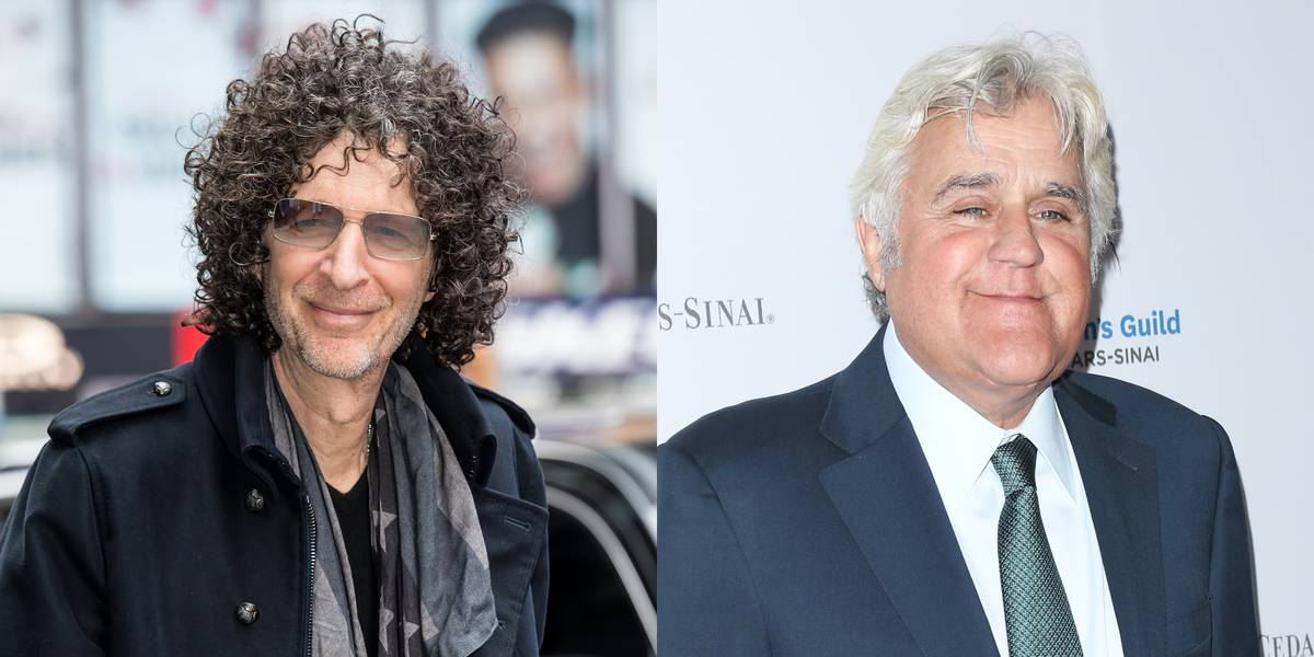 Howard Stern & Jay Leno