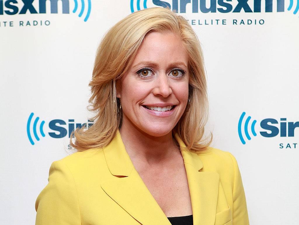 Journalist Melissa Francis visits the SiriusXM Studios