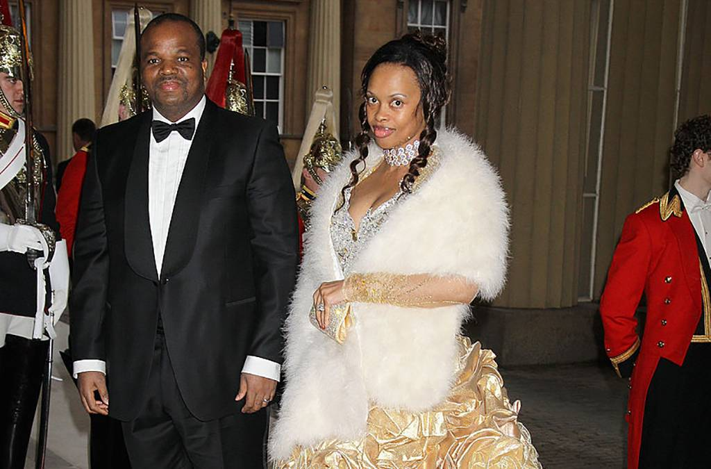 Inkhosikati LaMbikiza and husband