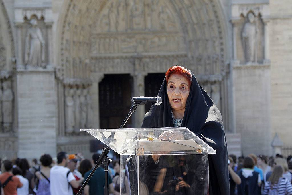 Sabika bint Ibrahim Al Khalifa speaking