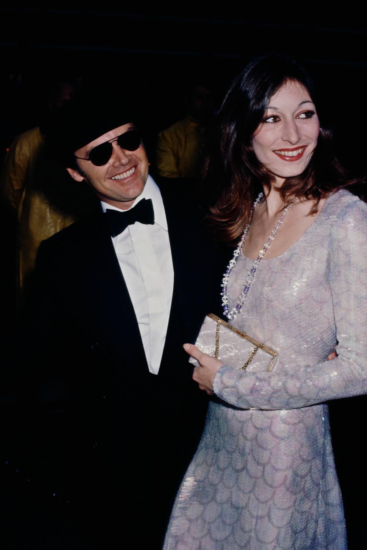Anjelica Huston In 1975