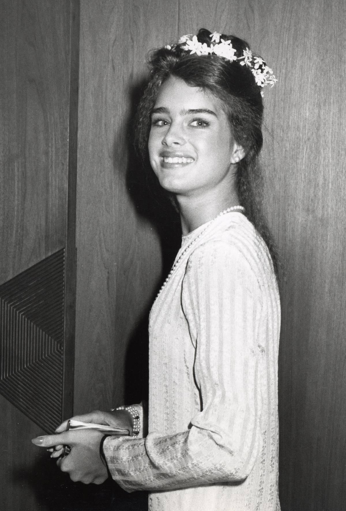 Brooke Shields In 1979