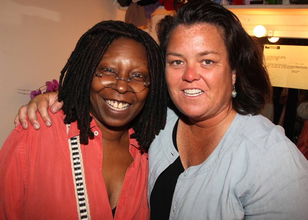 Rosie O'Donnell & Whoopi Goldberg On The View