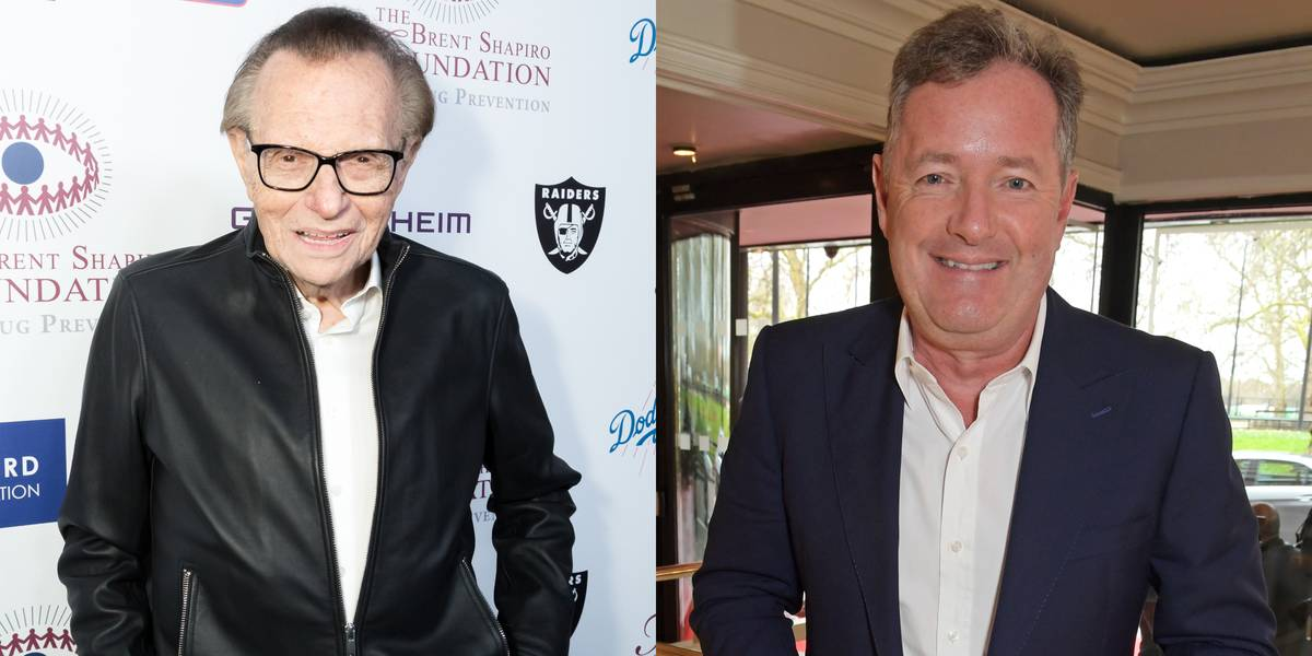 Larry King & Piers Morgan