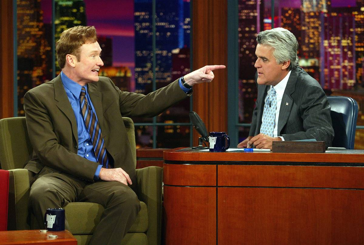 Conan O'Brien & Jay Leno