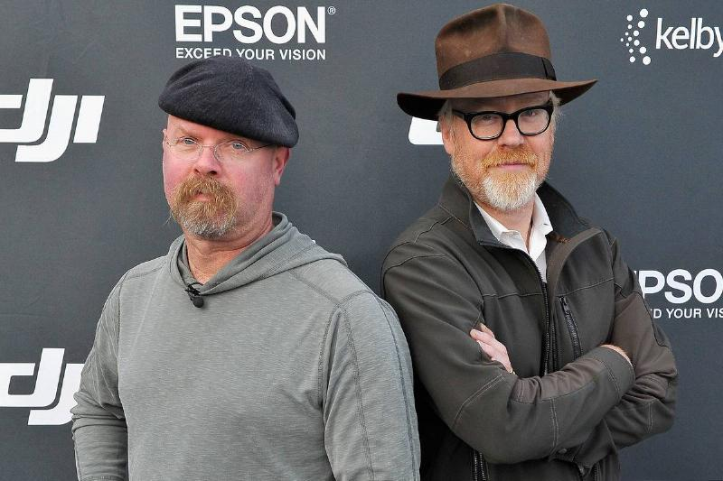 Adam Savage & Jamie Hyneman On Myth Busters