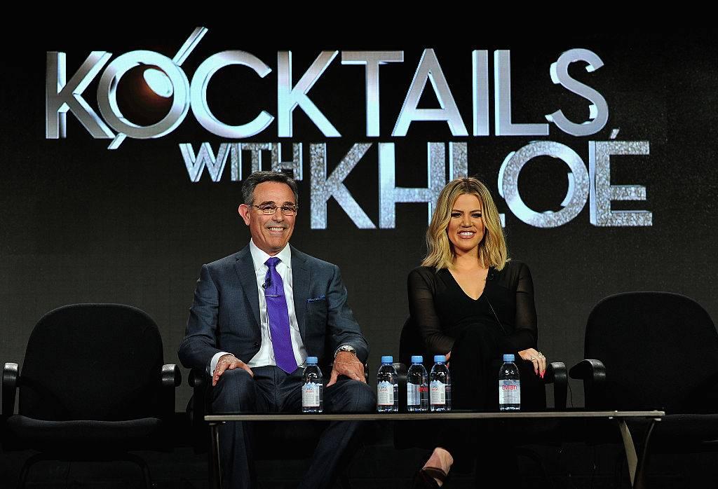 khloe kardashian and craig piligian on kocktails with khloe