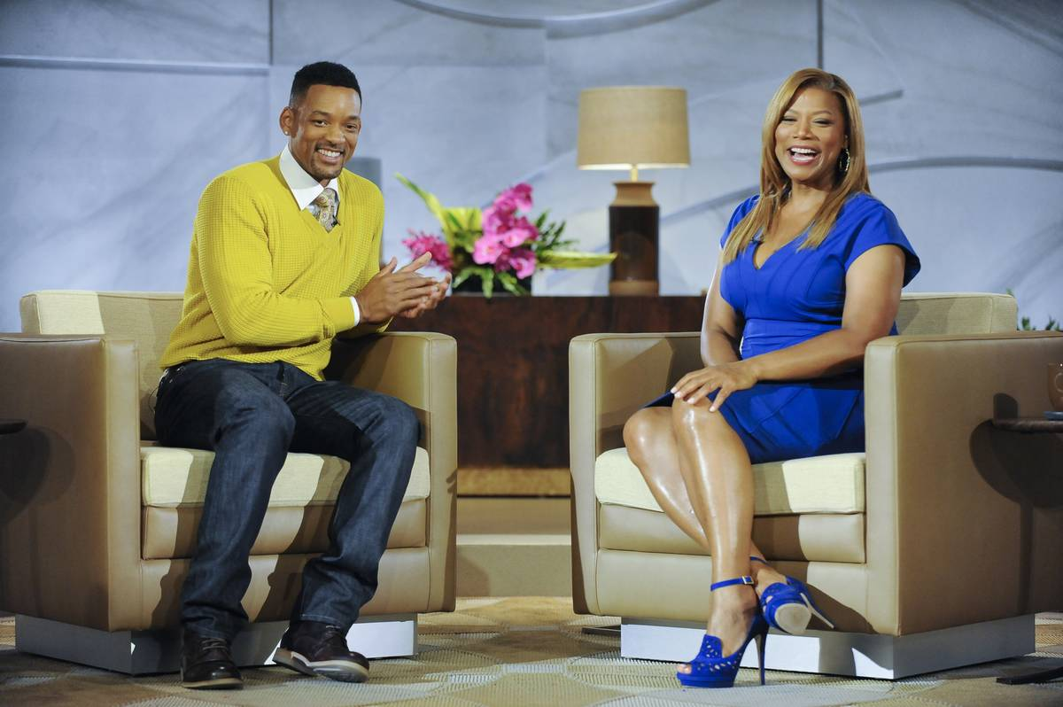 queen latifah and will smith on the queen latifah show