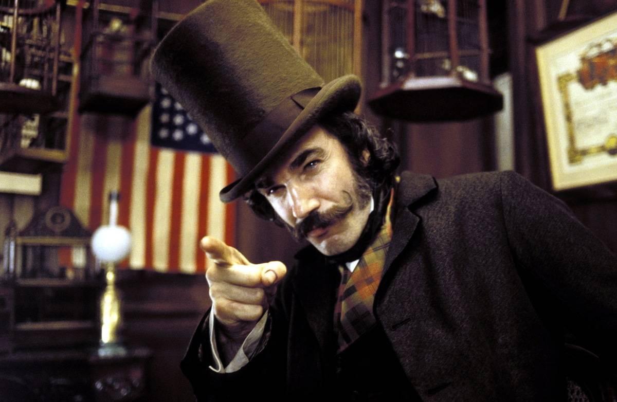 Daniel Day-Lewis As Bill Cutting In Gangs Of New York