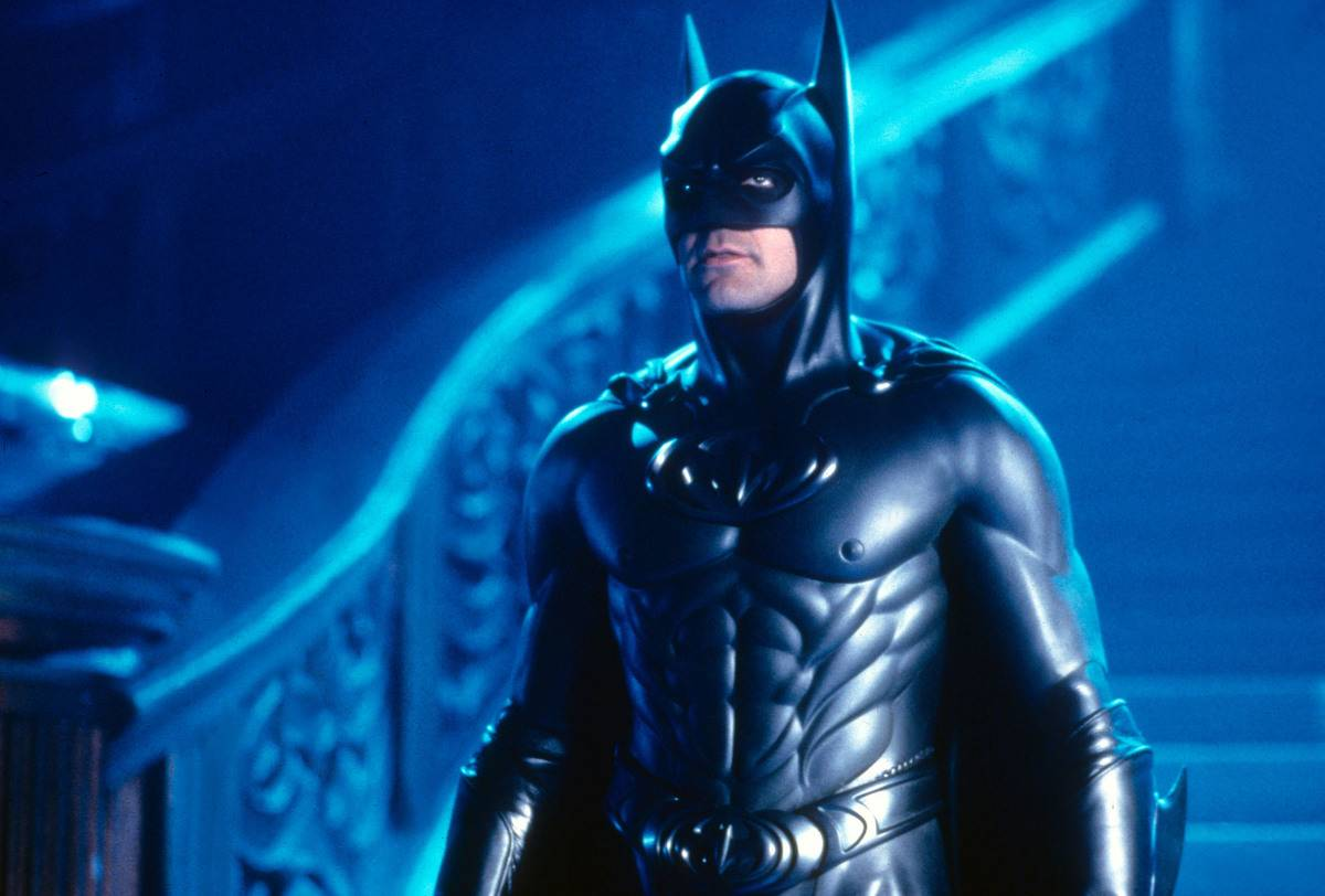 George Clooney's Anatomically Correct Bat Suit